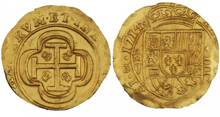 rough old gold coin