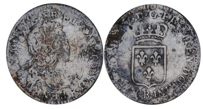 old silver coins