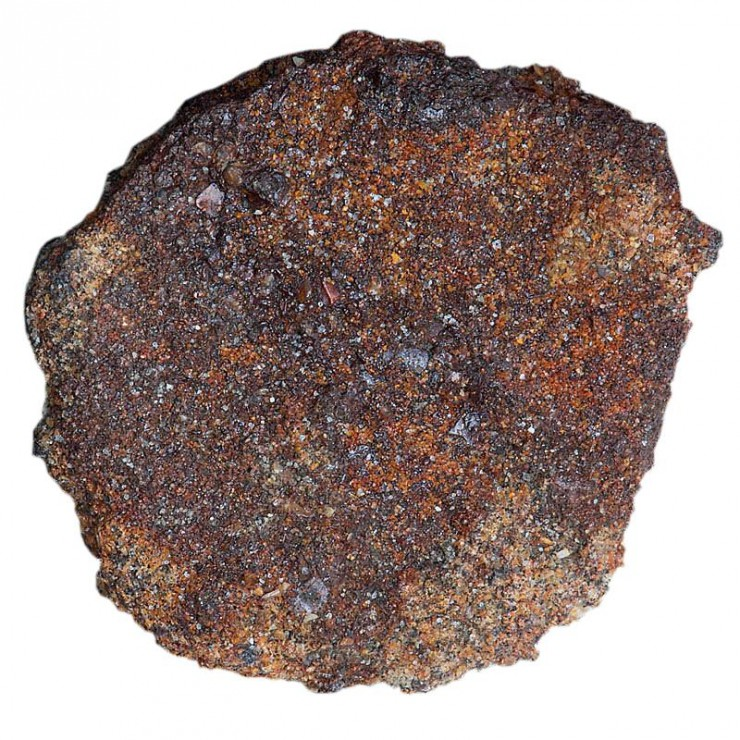 extremely corroded coin