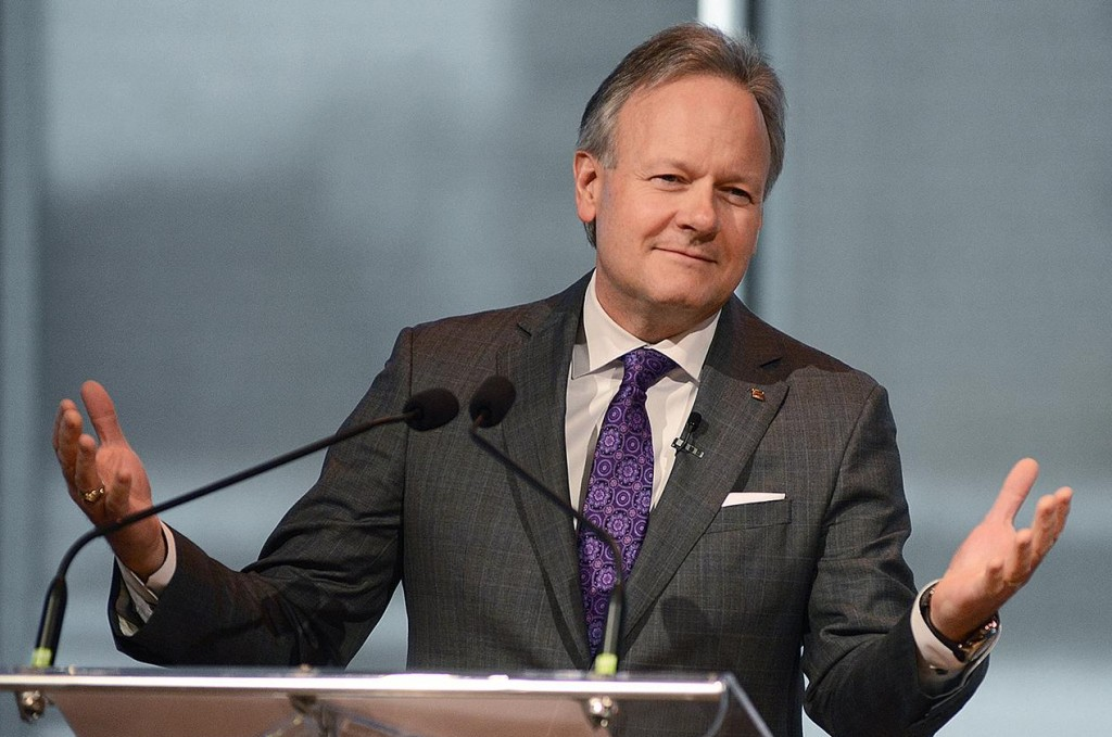 Stephen S. Poloz speaking