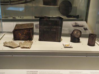 artifacts, tins, food