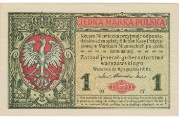 special German currency for occupied Poland