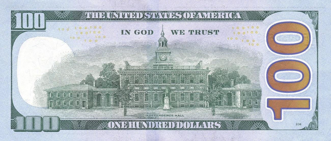 US $100 bill