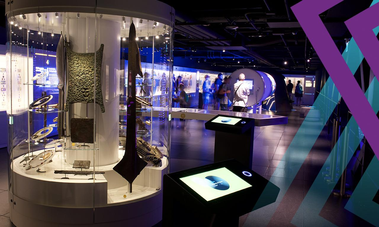 Permanent exhibition, Bank of Canada Museum